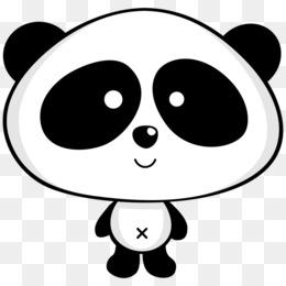 Panda Boyama Png Indir Ucretsiz Dev Panda Ayisi Kagit Cizim