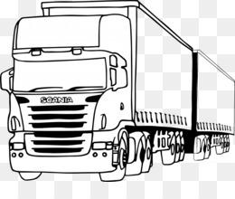 Araba Boyama Png Indir Ucretsiz Scania Ab Kamyonet Araba Boyama